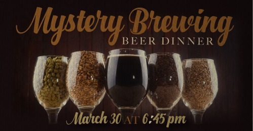 Mystery Brewing Beer Dinnera