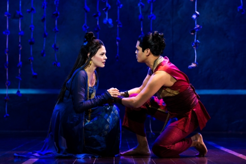 Manna Nichols and Kavin Panmeechao in Rodgers & Hammerstein's The King and I. Photo by Matthew Murphy
