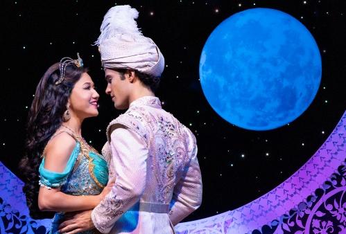 S6 Kaena Kekoa (Jasmine) & Jonah Ho'okano (Aladdin). Aladdin North American Tour. Photo by Deen van Meer